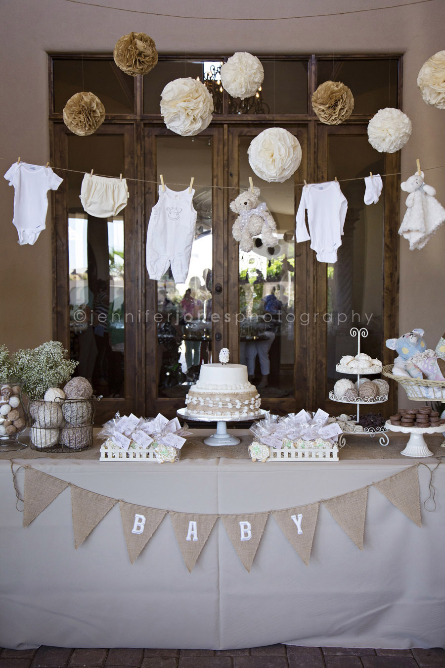 vintage lamb themed neutral baby shower jennifer jones photography. Black Bedroom Furniture Sets. Home Design Ideas