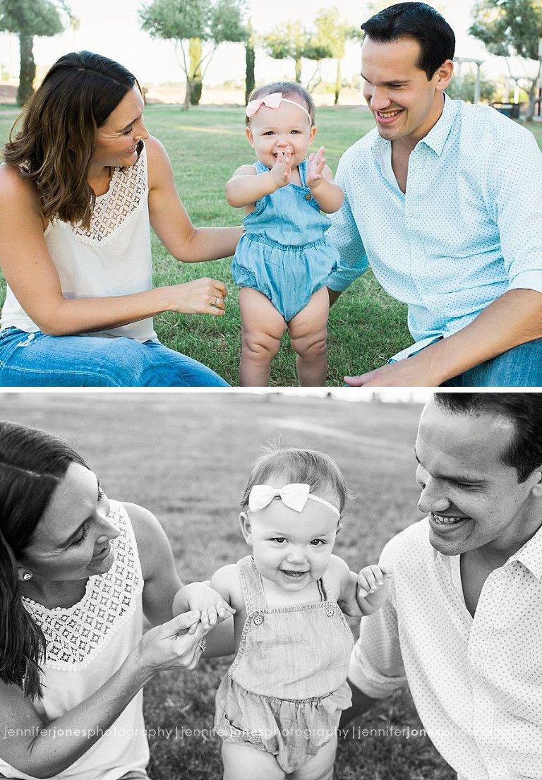 Sienna's Cake Smash Session Arizona Family Photographer